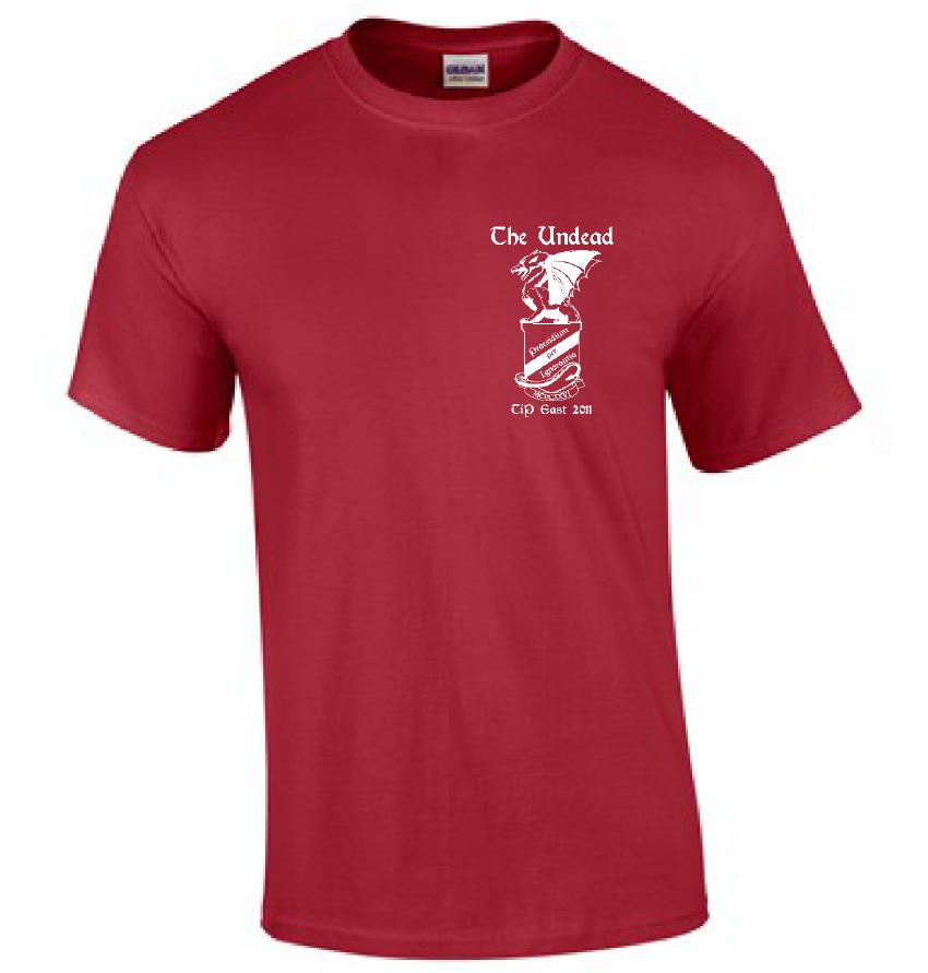 Front of TIP 2011 Class Shirt