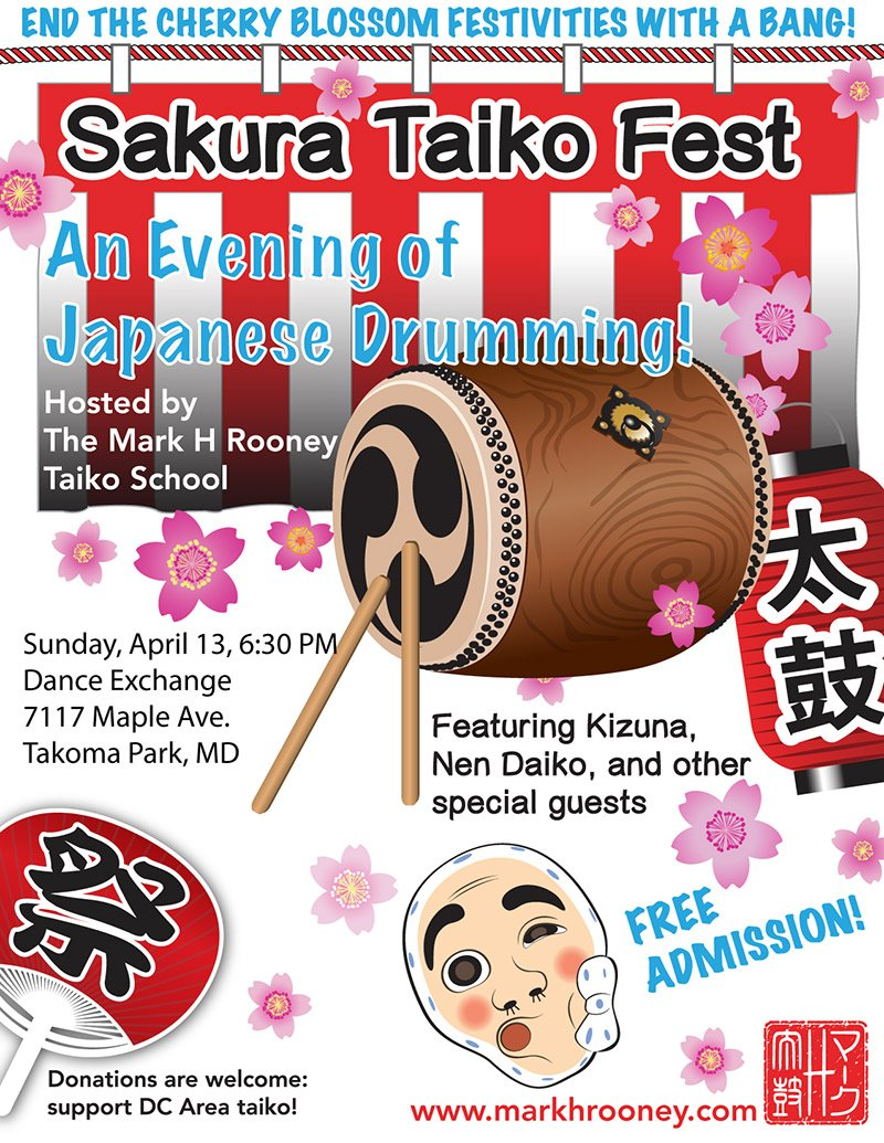 2014 Sakura Taiko Fest