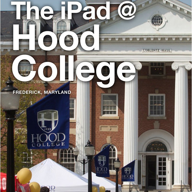 The iPad at Hood College