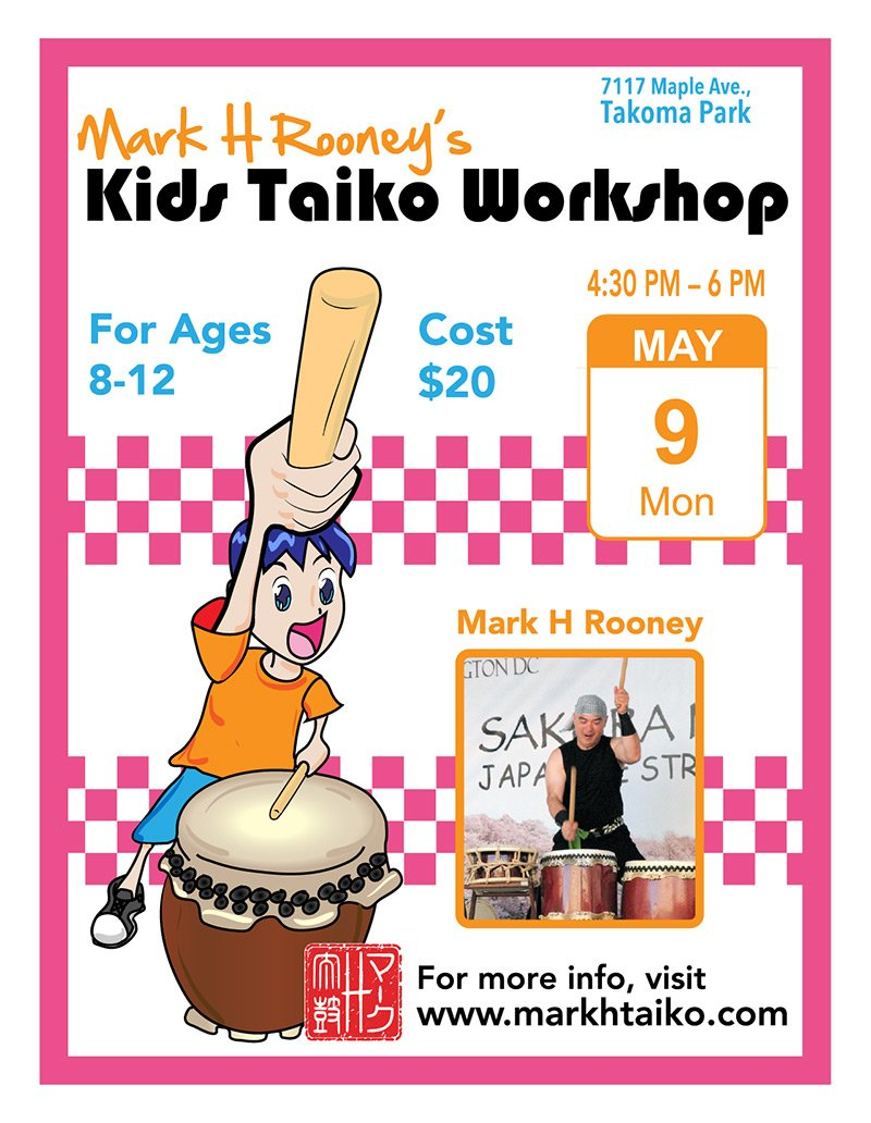 Kids Taiko Workshop