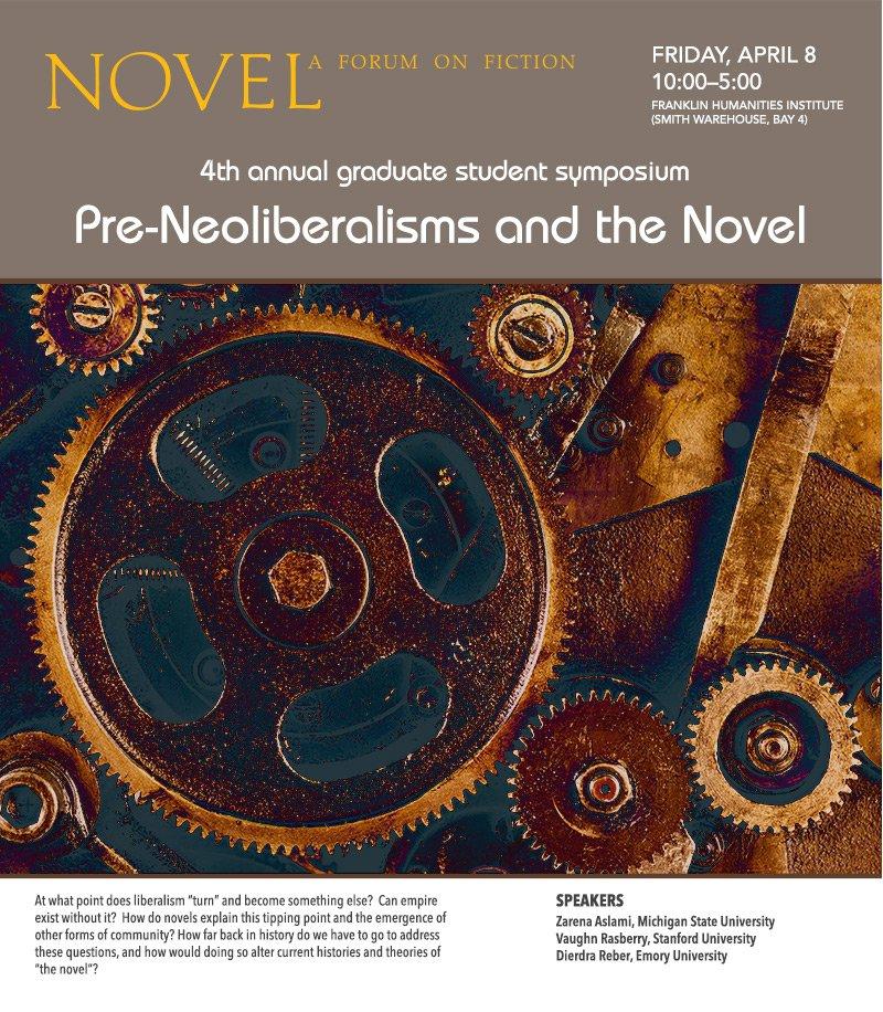 NOVEL 2016 Symposium