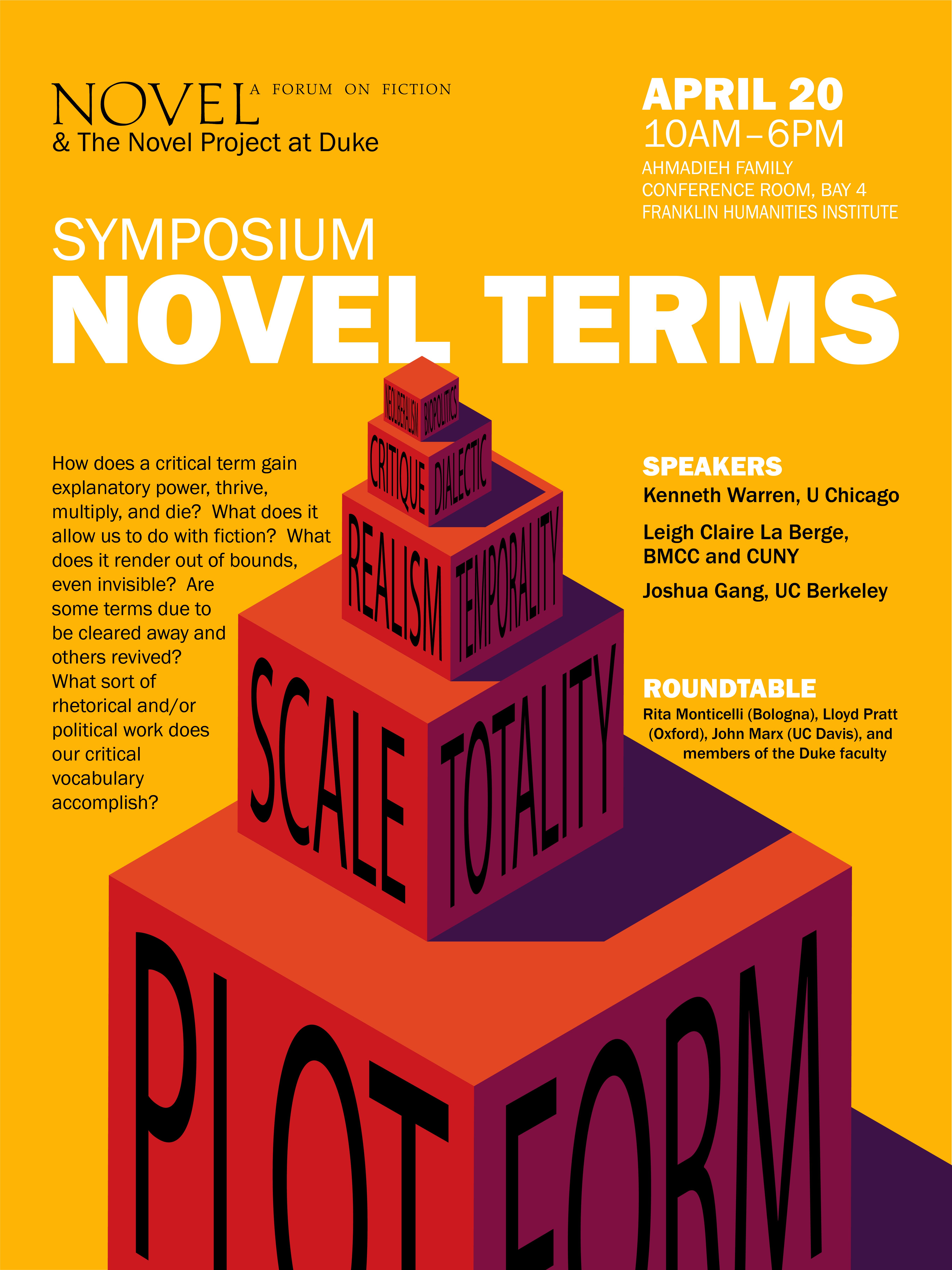 NOVEL- Symposium 2018